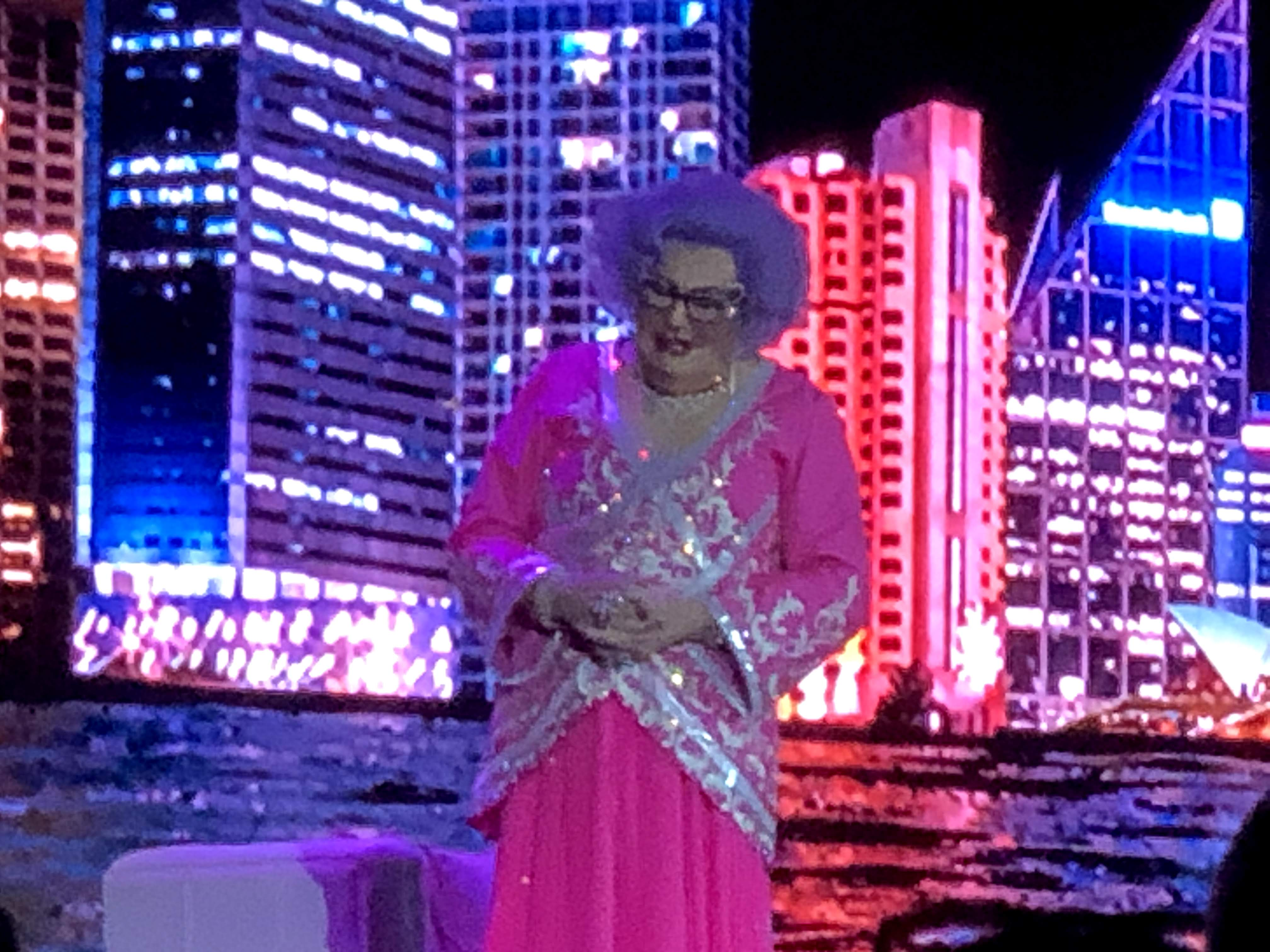 Dame Edna delivers her lessons on life (and systems)